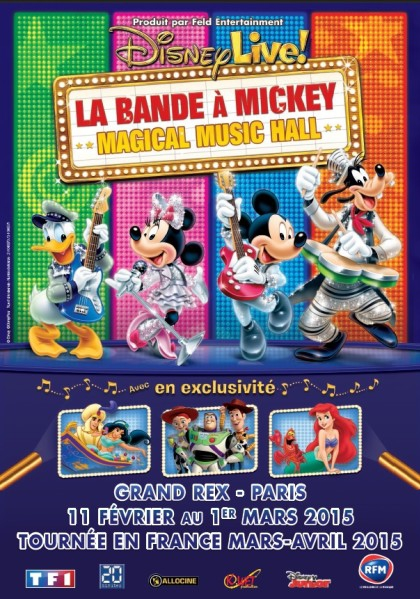 Disney Live! La Bande à Mickey - Magical Music Hall (2015)