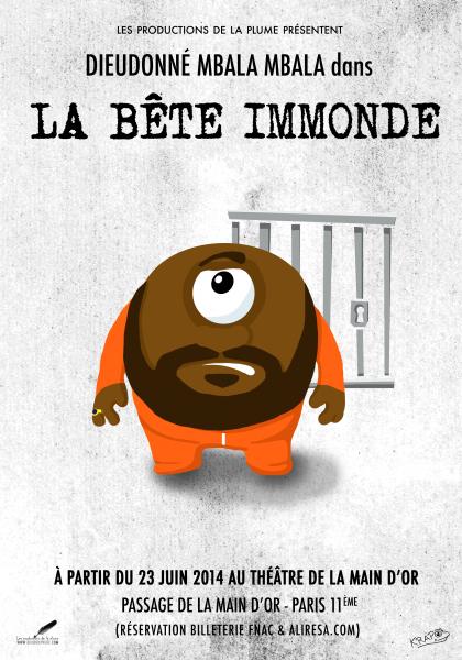 Dieudonne - La bête immonde (2015)