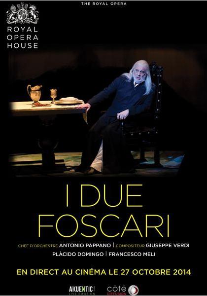 Les deux Foscari (Côté Diffusion) (2014)