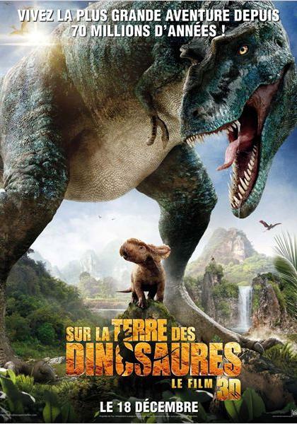 Sur la terre des dinosaures, le film 3D (2012)