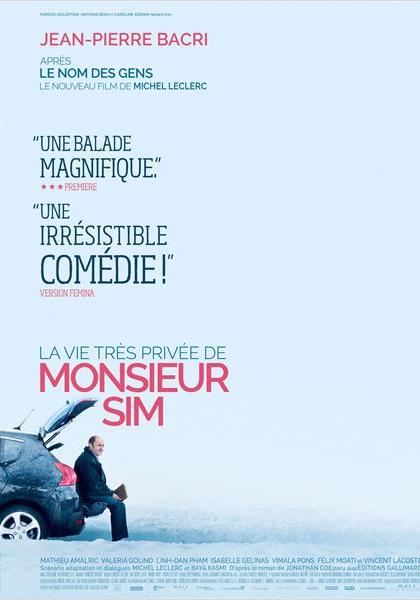La Vie très privée de Monsieur Sim (2015)